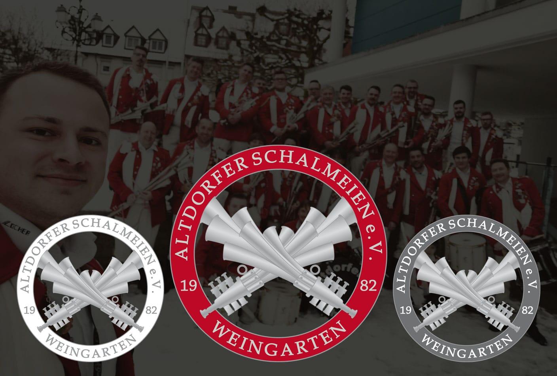 Logodesign Altdorfer Schalmeien