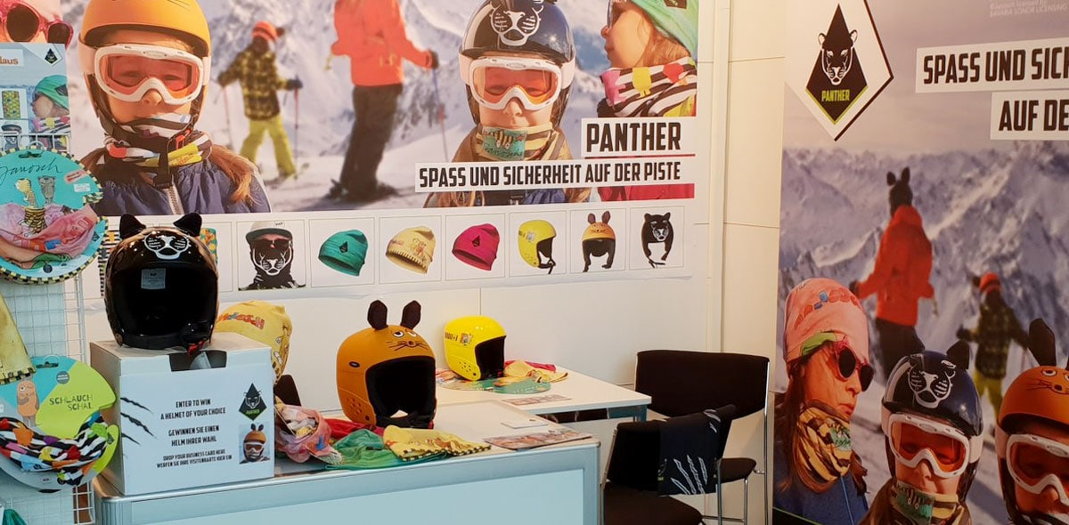 Panther Messestand - Corporate Design