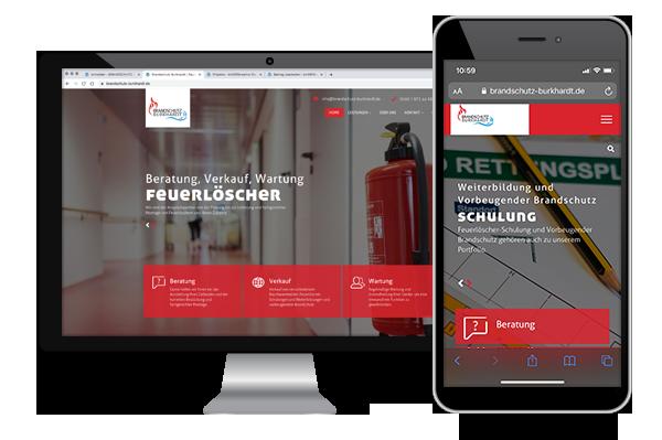 Brandschutz Burkhardt - Rauchwarnmelder, Feuerlöscher, Weiterbildung und Schulungen sowie vorbeugender Brandschutz