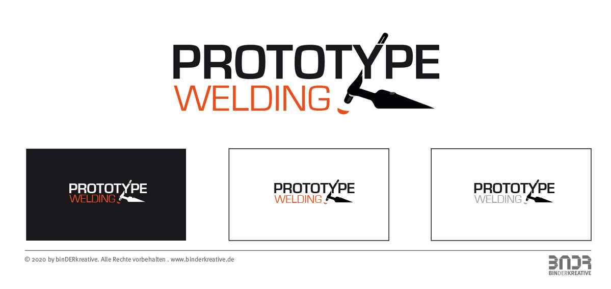 Prototype-Welding, Logodesign, Marke, Branding, Corporate Design, Logoentwurf