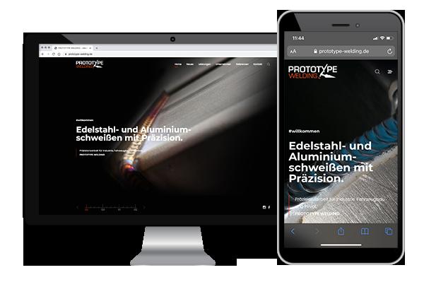 Webdesign, Responsive Design, WordPress, Blog, Prototype-Welding, Markendesign, Branding, Wesbsite